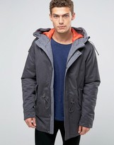 Benetton Parka with Quilted Lining