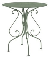 Fermob 1900 Steel Dining Table Color: Cactus