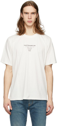 Stolen Girlfriends Club White BPM Logo T-Shirt