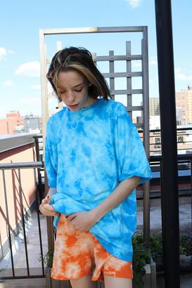 Urban Renewal Vintage Summertime Tie-Dye Oversized Tee