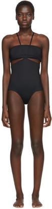 Rudi Gernreich Black Classic Monokini Swimsuit