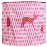 Taftan Little Deer Lampshade Fabric (35 cm, Pink)
