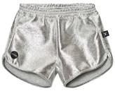 Nununu Silver Gym Shorts