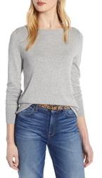 Halogen Boat Neck Sweater
