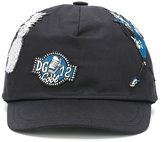 Dolce & Gabbana embroidered cap - kids - Cotton/Spandex/Elastane - 50 cm