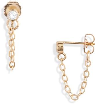 Set & Stones Jett Chain Stud Earrings