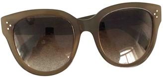 Celine New Audrey Khaki Plastic Sunglasses