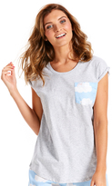 Peter Alexander peteralexander Cloud Pocket Tee