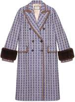 Gucci Vintage argyle coat