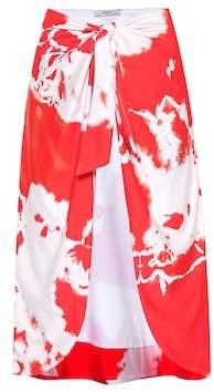Ganni Exclusive to mytheresa.com – Tie-dye beach skirt