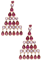Amrita Singh Nila 14K Yellow Gold, Tourmaline & Amethyst Earrings