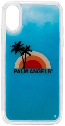Palm Angels liquid effect iPhone XS case