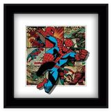 Marvel Heroes Spider-Man Panels Framed 5D Photo