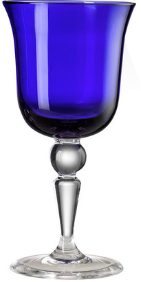 Mario Luca Giusti - St Moritz Water Glass - Royal Blue