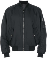 Versace zipped-up bomber jacket