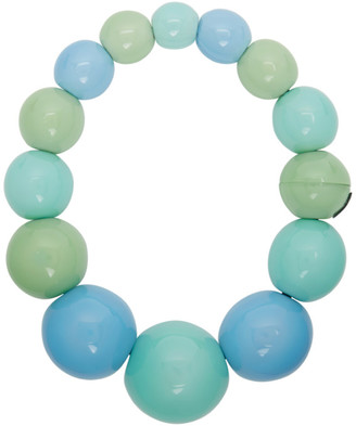Monies Jewellery Blue and Green Palermo Necklace