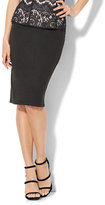 New York & Co. Midi Knit Pencil Skirt