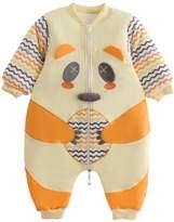 TongXinGuo Infant Cotton Winter Thick Long Sleeve Sleeper Onesie Newborn Baby Girls Baby Winter Romber 12-18 Months
