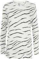 Zoe Karssen Zebra Print Tee