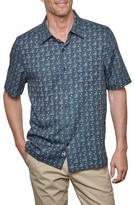 Nat Nast Men's Malecon Print Silk Blend Camp Shirt