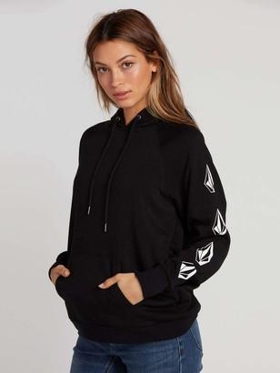 Volcom Women's Deadly Stones Hoodie Hooded Sweatshirt