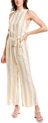 SALTWATER LUXE High-Neck Jumpsuit