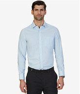 Nautica Houndstooth Long-Sleeve Woven Shirt