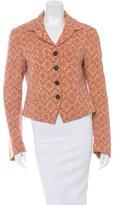 Dries Van Noten Wool Woven Jacket