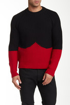 Hunter Moustache Wool Jumper