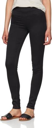 Pieces Women's Pchighwaist Betty Jeggings Black/noos Jeans 32 / XXS