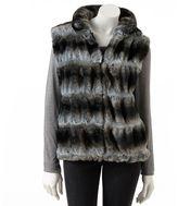 JLO by Jennifer Lopez ombre faux-fur vest