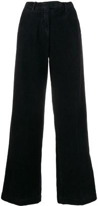 Massimo Alba Corduroy Wide-Leg Trousers