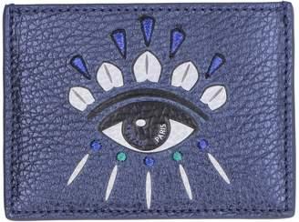 Kenzo Kontact Eye Metallic Leather Cardholder