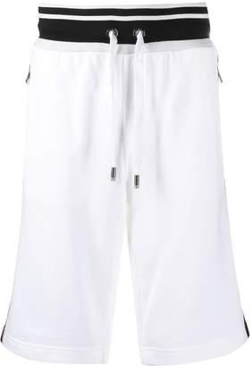 Dolce & Gabbana logo stripe bermuda shorts