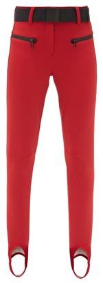 Goldbergh Paris Slim-fit Stirrup Soft-shell Ski Trousers - Red