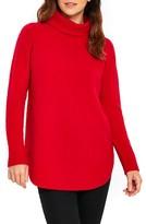 Wallis Women's Compact Curve Hem Turtleneck Sweater