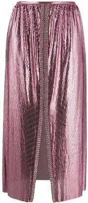 Paco Rabanne Chainmail Midi Skirt