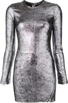 RtA Fitted Mini Dress