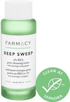 Farmacy Deep Sweep 2% BHA Pore Cleaning Toner with Moringa + Papaya