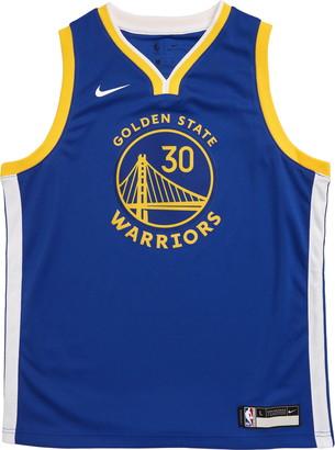 Nike NBA Golden State Warriors Stephen Curry Basketball Jersey