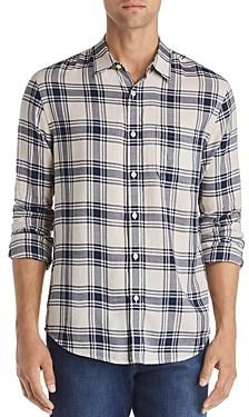 Frame Plaid Slim Fit Shirt