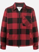 Woolrich plaid light jacket