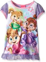 AME Sleepwear Little Girls Star Power Chipette Nightgown