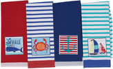 DESIGN IMPORTS Design Imports Nautical Summer Set of 4 Kitchen Towels