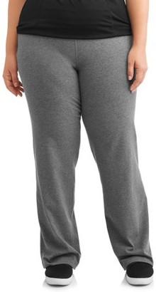 Athletic Works Women's Plus Size Dri More Bootcut Pant