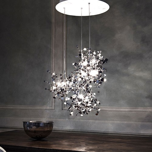 Terzani Argent N91S 12 Light Pendant Light