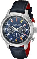 Nautica Men's NAD16520G NCT 16 Flags Analog Display Quartz Watch