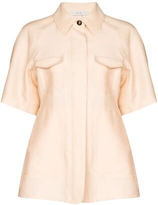 LVIR Concealed Button Placket Shirt