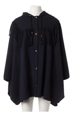 Roseanna Navy Cotton Jackets