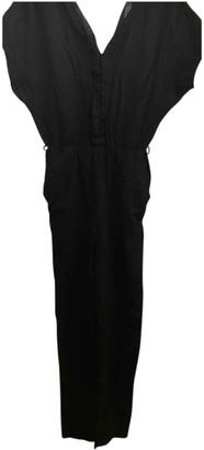 Sessun Black Viscose Jumpsuits